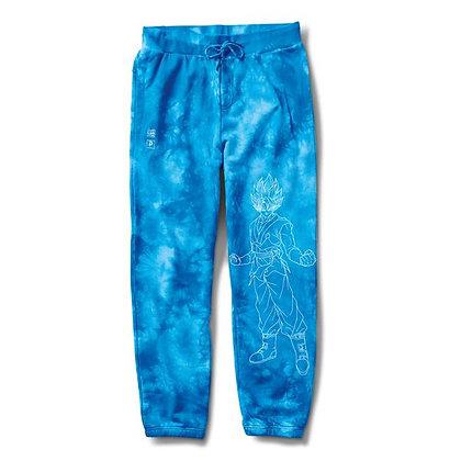 Primitive X DBS SSG Fleece Pant Washed blu