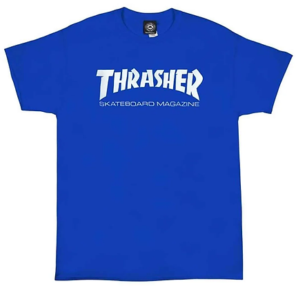 Thrasher Skate Mag Tshirt Ryl