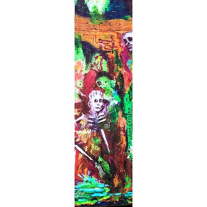 "Hysteria x Ludica ""Skull Dream"" griptape"