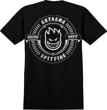 Spitfire X Extreme Skateshop Tshirt Blk