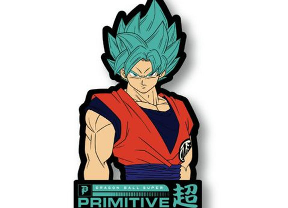 Primitive X DBS SSG Goku Classic Pin