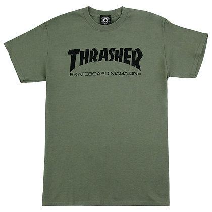 Thrasher Skate Mag Tshirt Grn