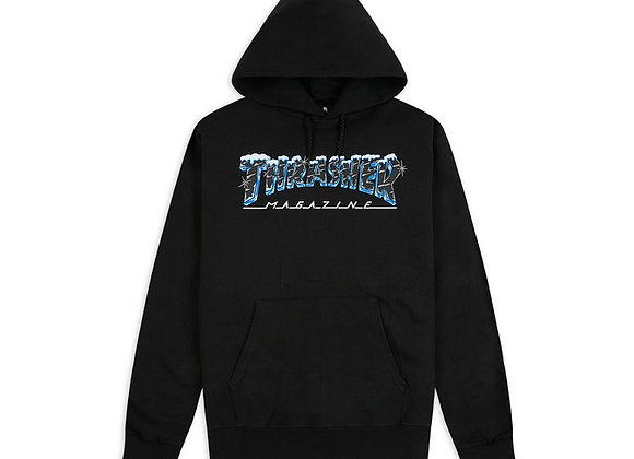 Thrasher Black Ice Hood Blk