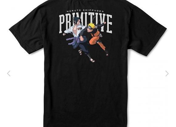 Primitive x Naruto Versus Tshirt blk