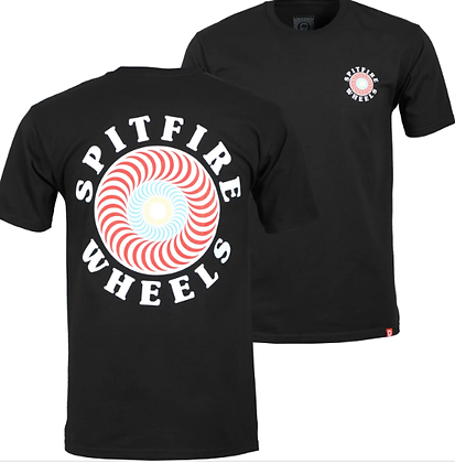 Spitfire OG Classic Fill Tshirt Blk