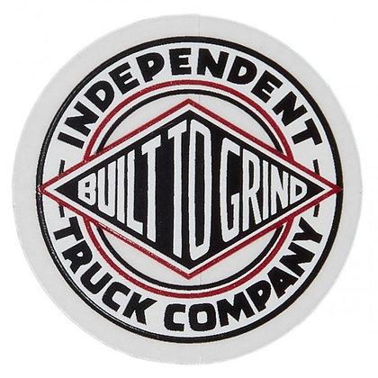 Independent 4x4cm BTG Summit Sticker