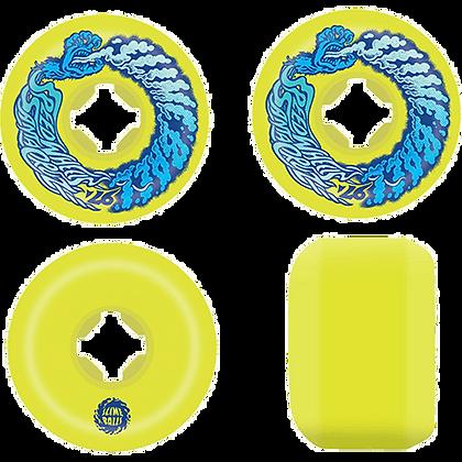 Santa Cruz 56mm 97A Vomit Mini Yellow