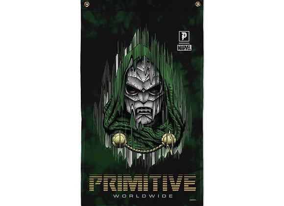 Primitive X Marvel Doctor Doom Banner Grn