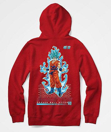 Primitive X DBS SSG Goku Hood Youth rd