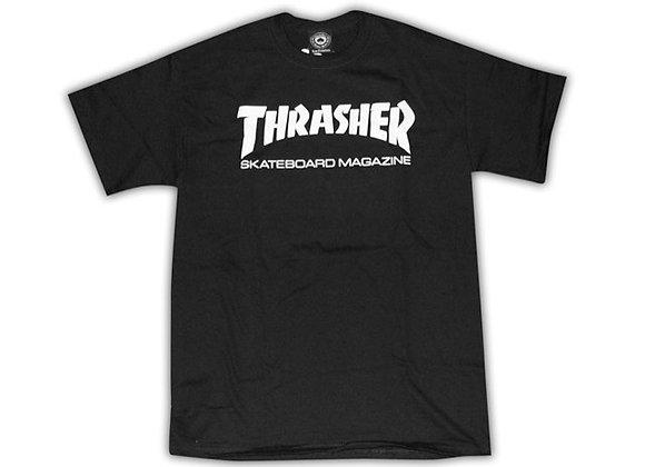 Thrasher Skate Mag Tshirt Blk