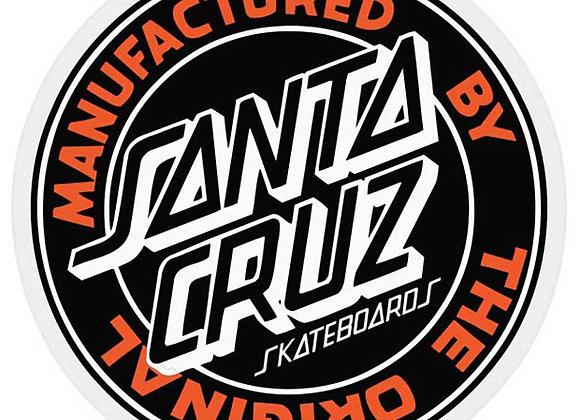 Santa Cruz MFG Dot Sticker 7cm