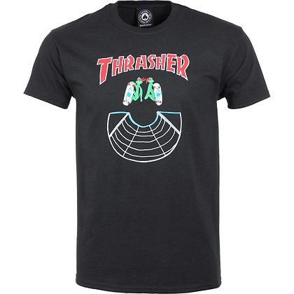 Thrasher Doubles Tshirt Blk