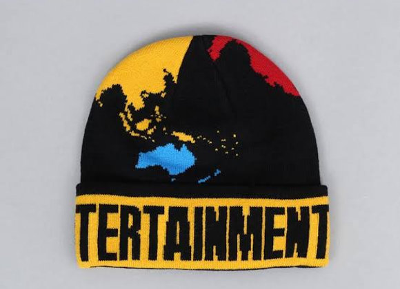 Fucking Awesome World Entertainment Beanie blk