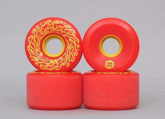 Santa Cruz 60mm 78A OG Slime Red Yellow
