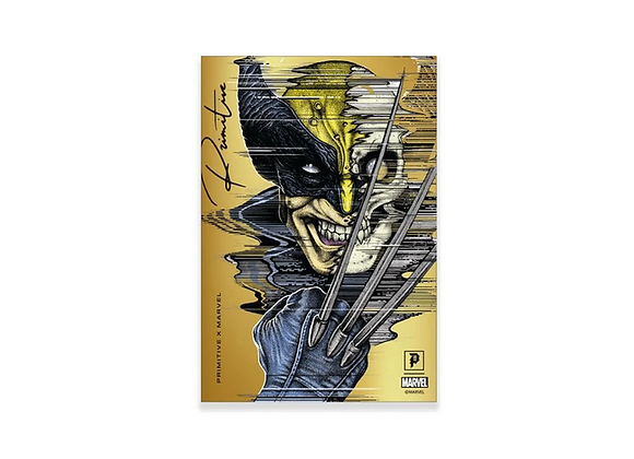 Primitive X Marvel Wolverine Foil Sticker