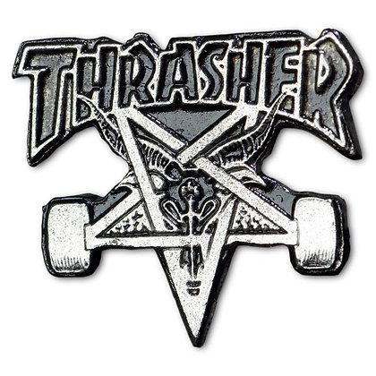 THRASHER Skategoat Pin.
