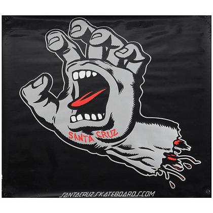 Santa Cruz Screaming Hand Banner
