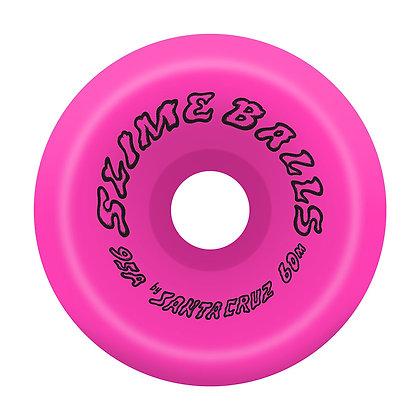 Santa Cruz 60mm 95A Scudwads Vomits Neon Pink  Slime Balls