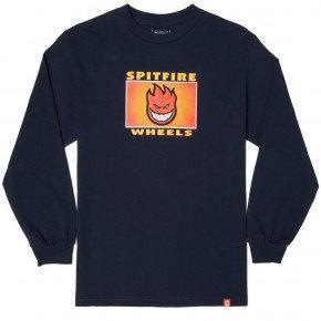 Spitfire Label Shirt LS Nvy