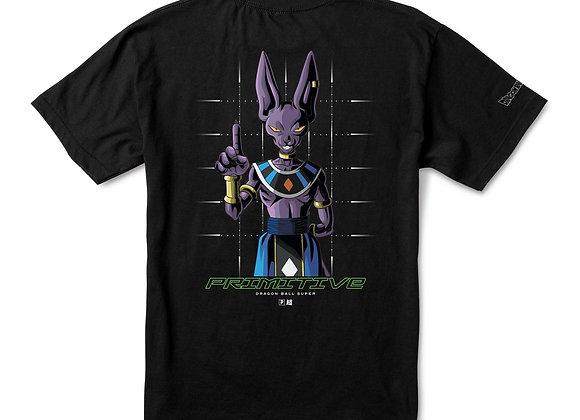 Primitive X DBS Shadow Beerus T-shirt blk