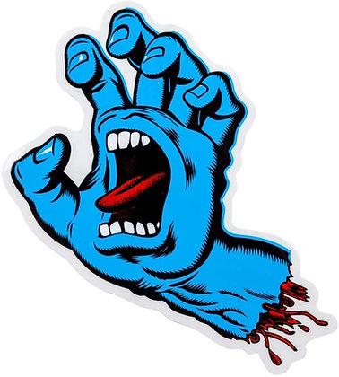Santa Cruz Screaming Hand Sticker 8cm