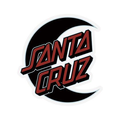 Santa Cruz Empty Moon Sticker 11cm
