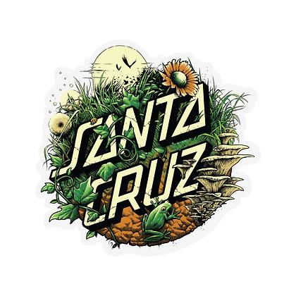 Santa Cruz Nature Dot Sticker 12cm
