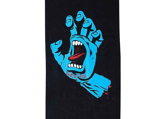 Santa Cruz Screaming Hand Towel blk