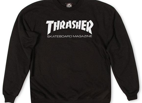 Thrasher Skate Mag Crewneck Blk