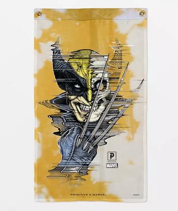 Primitive X Marvel Wolverine Banner Gld