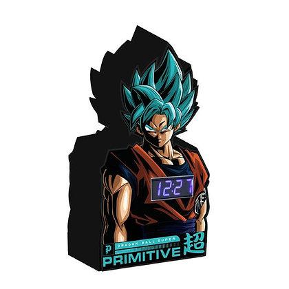 Primitive X DBS SSG Goku Digital Clock