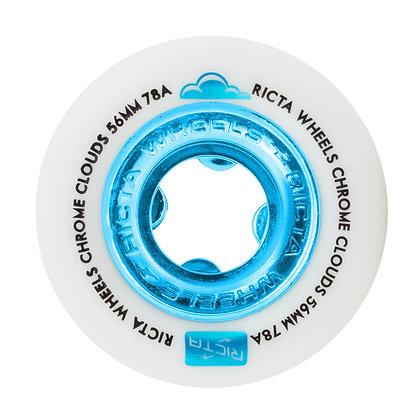 Ricta 56mm 78A Chrome Clouds Blu