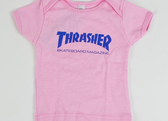 Thrasher Skate Mag Logo infant Pink