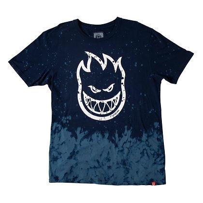 Spitfire Bighead Outline Fill T-shirt navy