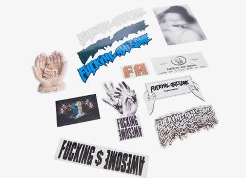 Fucking Awesome Sticker Pack 12pza