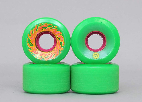 Santa Cruz 54.5mm 78A Mini Og Slime Green Pink