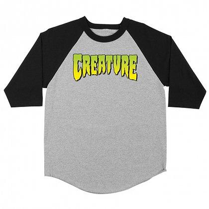 Creature Logo Raglan 3/4 Sleeve
