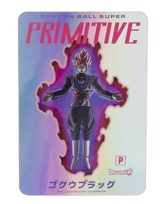 Primitive X DBS Goku Black Hologram Sticker