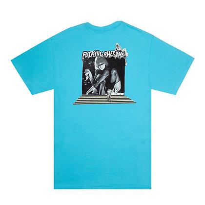 Fucking Awesome Portal T-shirt blue