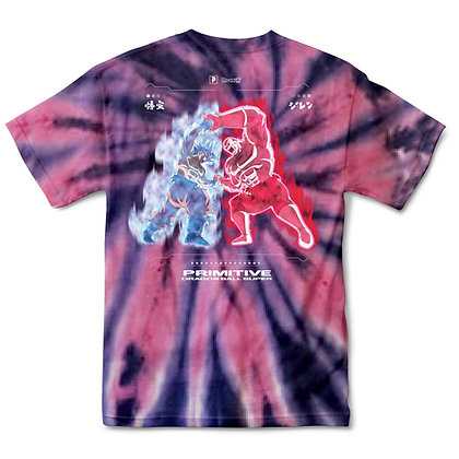 Primitive X DBS2 Goku Vs Jiren Survival Washed Tshirt Crl