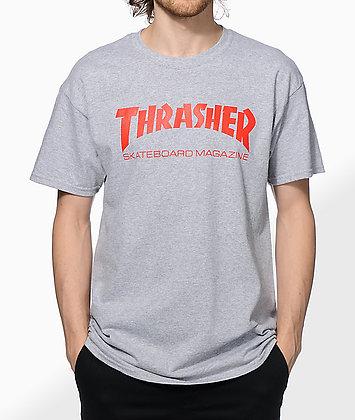 Thrasher Skate Mag Tshirt Gry