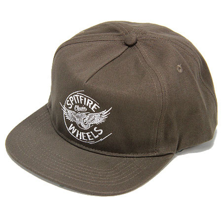 2175d77444d0e SPITFIRE Flying Classic 5 panel Brown.