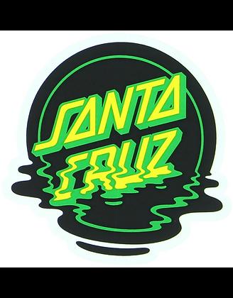 Santa Cruz 8x8cm Dot Reflection Mylar Sticker