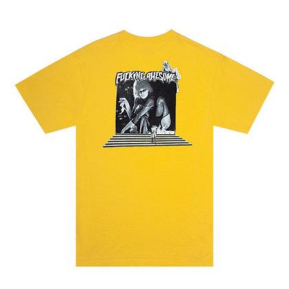 Fucking Awesome Portal T-shirt ylw