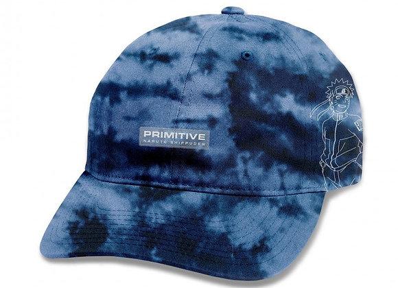 Primitive x Naruto Uzumaki Washed Snapback blu