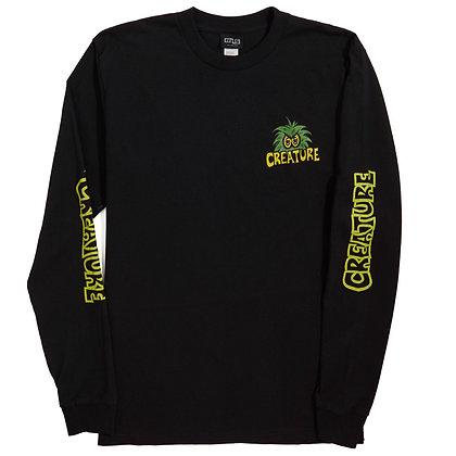 Creature Creeps Shirt LS Blk
