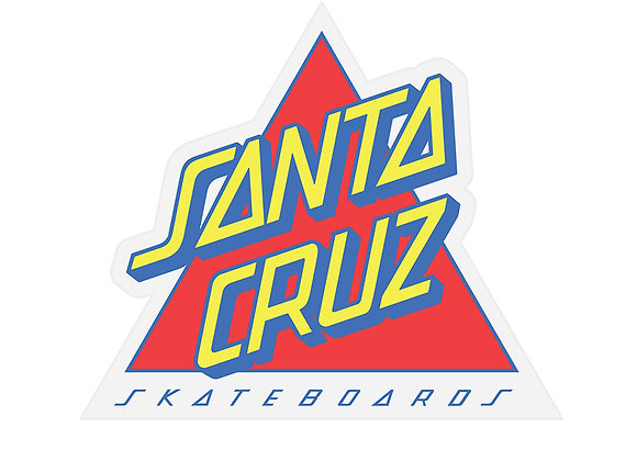 Santa CruzNot a Dot Sticker 9cm