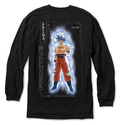 Primitive X DBS2 Goku Ultra Instinct Shirt LS Blk