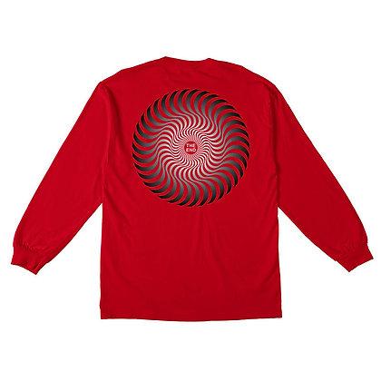 Spitfire Classic Swirl Fade Shirt LS Rd