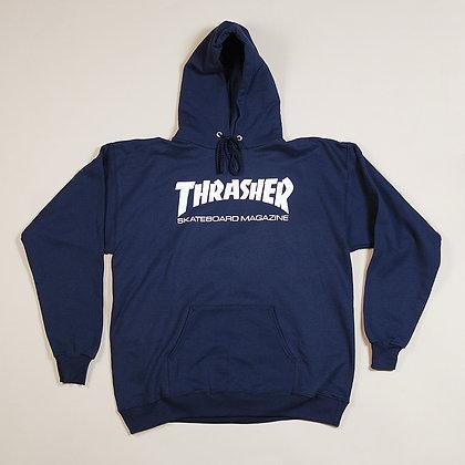 Thrasher Skate Mag Hood Nvy